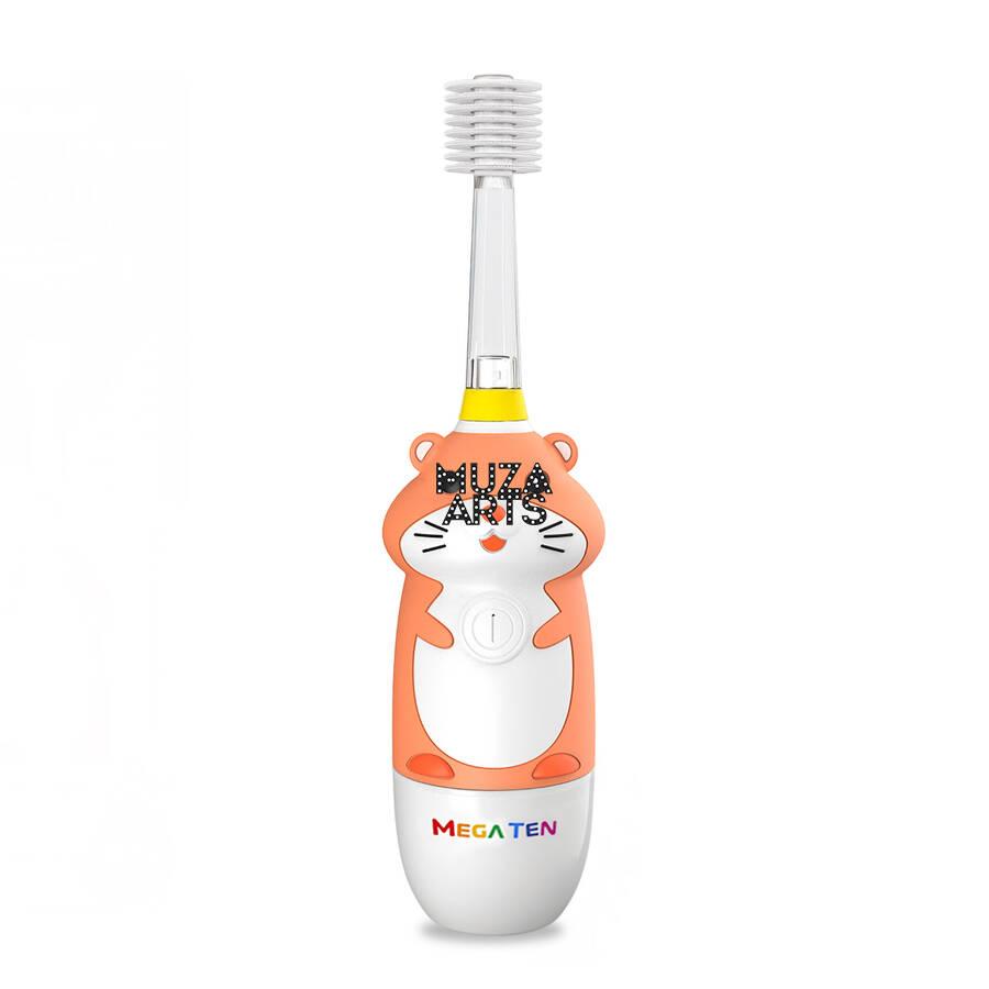 Детская электрическая зубная щетка Megaten Kids Sonic   Хомячок